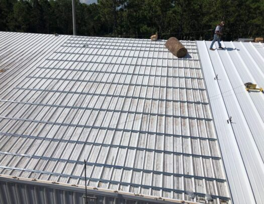 Re-Roofing (Retrofitting) Metal Roofs-Largo Metal Roofing Company